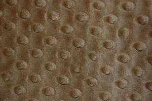 "Shannon Fabrics Cuddle Dimple Cappuccino 100% Polyester 58"" Fabric"