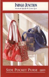 Indygo Junction IJ-859 Side Pocket Purse Sewing Pattern