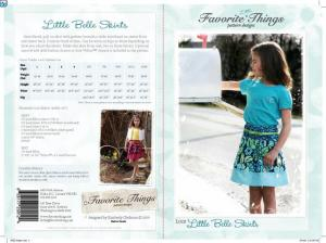 Favorite Things FT12 Little Belle Skirts Size 1 to 13/14