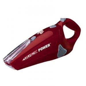 Dirt Devil M0896RED Quick Power Hand Vac - 9.6 V, Red, Retractable Brush, Cordless, Dirt Cup, Wall Mountable, Bagless