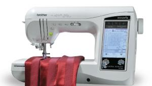 25479: Brother NX2000 Demo Laura Ashley 460 Stitch Computer Sew Quilt Machine