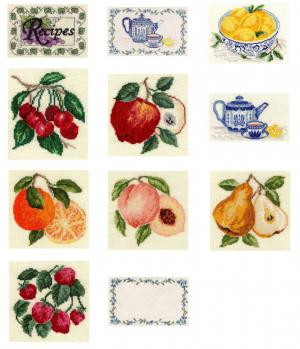 Sudberry House D3300 For The Kitchen Digitized Machine Cross Stitch Designs CD