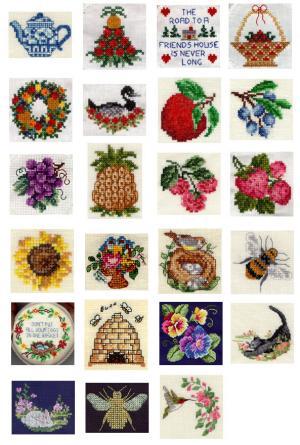 Sudberry House D3400 Be Happy Digitized Machine Cross Stitch Designs CD