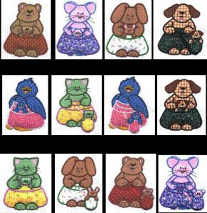 Sew Many Designs Baby On Board Applique Collection Multi-Formatted CD