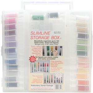 Sulky Embroidery Slimline Starter Kit 27 Spools Size 40 Rayon