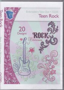 OESD 12235 Teen Rock Embroidery CD Design Pack