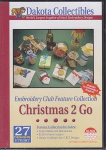 Dakota Collectibles F70387 Christmas 2 Go Club Collection Multi-Formatted CD, Includes Project Ideas