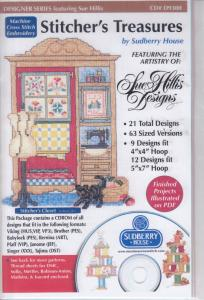 Sudberry House D9300 Stitchers Treasures Multi-Formatted CD