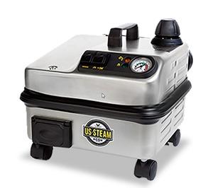 "Euro Steam Falcon US1900 Dry Vapor Steam Cleaner 12"" 85-316° 3Liter 1600W 13A"