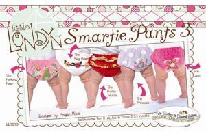 Little London Smartie Pants 3 Diaper Cover, 0-12 mo, 12-24mo