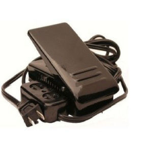 26082: AlphaSew 6098FC-143 Electronic Foot Control Pedal, Cords and Block for Light/Motor Plugs