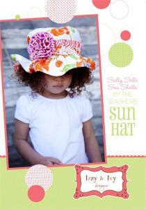Izzy & Ivy Designs  Sally Sells Sea Shells Hat Pattern