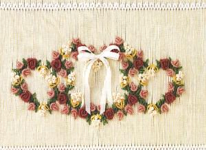 Little Memories The Three of Hearts LM103 Smocking Plate