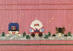 Little Memories Humpty Dumpty Dilemna LM92 Smocking Plate