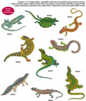 Amazing Designs / Great Notions 1264 Reptiles Collection II Multi-Formatted CD