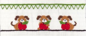 Cross-eyed Cricket  CEC196 Teachers Pet 1 Smocking Plate