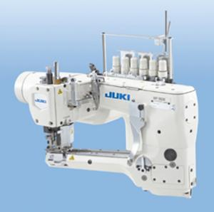 Juki MF-3620, 4 Needle, Feed Off the Arm, FlatSeamer, Top & Bottom Coverstitch Industrial Sewing Machine, Direct Drive Motor & Stand