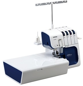 Brother 5234PRW Limited Edition Project Runway Freearm Serger Machine, Best Auto Needle Threader Like Embroidery Machines, DVD, Made Taiwan, Not China