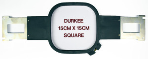 "Durkee PR1515cmSQ Square 6x6"" Hoop Frame and Brackets for Brother PR600 PR1000, PR1050X, Babylock Multi Needle Embroidery Machines"