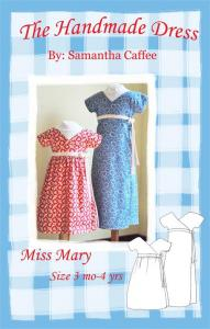The Handmade Dress THD 109 Miss Mary Dress Pattern