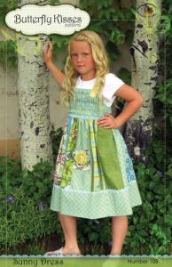 Butterfly Kisses BK108 Sunny Dress Pattern
