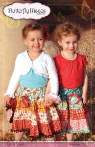Butterfly Kisses BK107 Bella Skirt Pattern