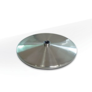 Daylight U52107 Brushed Stainless Slimline Table Base for All Daylight U32102, U32107, U35107, U35108, U35118 Desk and Floor Lamps to Table Top Lamps