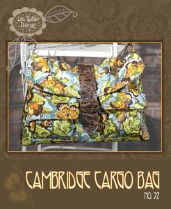Lila Tueller LT32 The Cambridge Cargo Bag Pattern