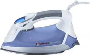 Singer, Expert Finish, Iron EF.01, EF01, EF-01, Vertical, Burst, Steam, 1700W, 9, Temperature, Setting, LCD, Fabric, Guide, Cool, Spray, Mist, Anti, Calc, Drip, 3, Way, Auto, Off