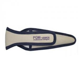 """PGM Pro 803F Safety Protective Canvas Bag Sheath, Holder for 8"""", 9"""", and 10"""" Scissors, Shears, Straight Trimmers"""