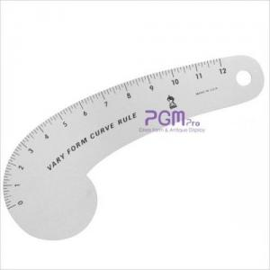 """PGM Pro 805D FairGate Vary Form Curved 12"""" Fashion Ruler"""