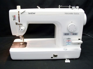 "27454: Brother RPQ1500S Refurbished 9"" Arm Sewing Quilting Machine, Foot Control, No Accessories"