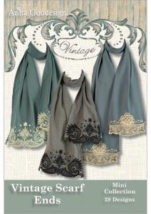 27472: Anita Goodesign 102MAGHD Scarf Ends Mini Vintage Collection Embroidery CD