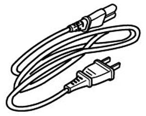 Janome 112, 653524007 Standard 2-Pin PowerCord for Computer Sewing Machines