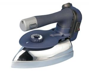Ace Hi, AH-2100, Commercial, Electric Iron, AH2100, Lightweight, 1000W, High Heat, Hard Anodized, Aluminum Soleplate, Optional SR-3, Steam Regulator