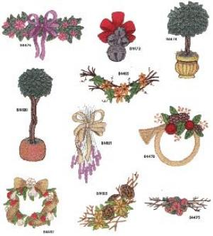 Amazing Designs / Great Notions 1271 Seasonal Swags Collection I Multi-Formatted CD