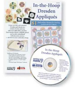 Amazing Designs ADITHD In-The-Hoop Dresden Applique Embroidery Designs CD