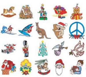 Stitchitize Embroidery Designs Christmas B  Collection Multi Formatted Cd