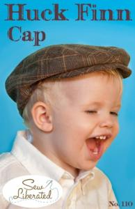 Sew Liberated  SL110  Huck Finn Cap Pattern sizes 6 months to 10 years.