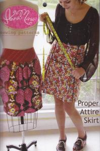 Anna Maria Horner 93-4545  Proper Attire Skirt Sewing Pattern