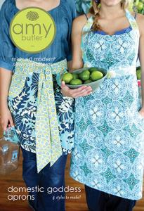 Amy Butler's 93 3088  Amy Butler's Domestic Goddess Aprons Pattern