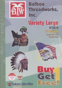 Dakota Collectibles / Balboa Threadworks B70010 Variety Large Multi-Formatted CD