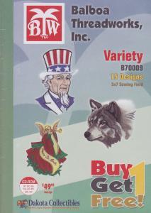 Dakota Collectibles / Balboa Threadworks B70009 Variety Large Multi-Formatted CD