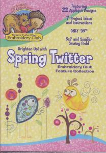 Dakota Collectibles F70434 Spring Twitter Applique
