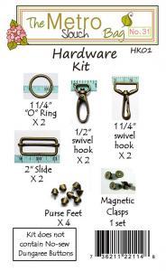 Lila Tueller LT31A Metro Handbag Hardware kit