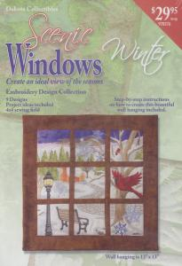 Dakota Collectibles 970376 Scenic Windows 9 Winter Designs on Multi-Formatted CD