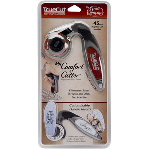 Grace True Cut GCC45 45mm Blade Ergonomic Handheld Rotary Cutter Tool