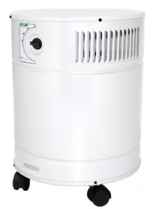 AllerAir 5000 MCS Supreme Air Purifier, 3 Speed, 400 CFM, 50-75db, 8ft Cord, 15lb Carbon Filter