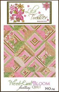 Lila Tueller 933189  Woodland Bloom Fantasy Quilt Pattern
