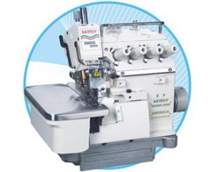 Gemsy Jiasew G3900G-05 Threads, True Safety Stitch +3 Thread Overlock Serger Machine, Top Mount KD Unassembled Power Stand SZ-800 Servo Motor